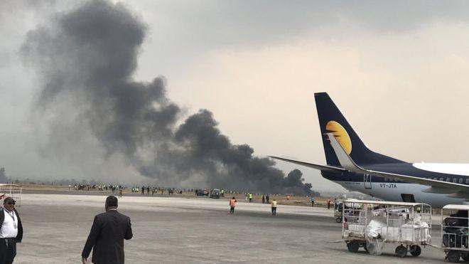 Crash-landed in Kathmandu, Nepal: Aircraft with 67 passengers