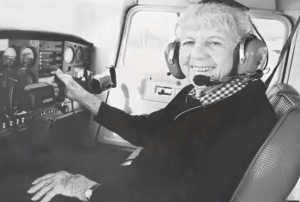 Mama Bird: Record-breaking female pilot