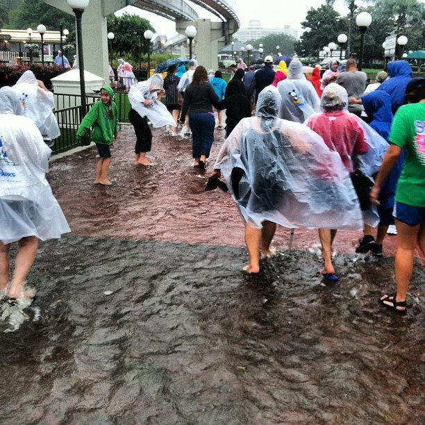 Coping with undesirable weather conditions on your vacation