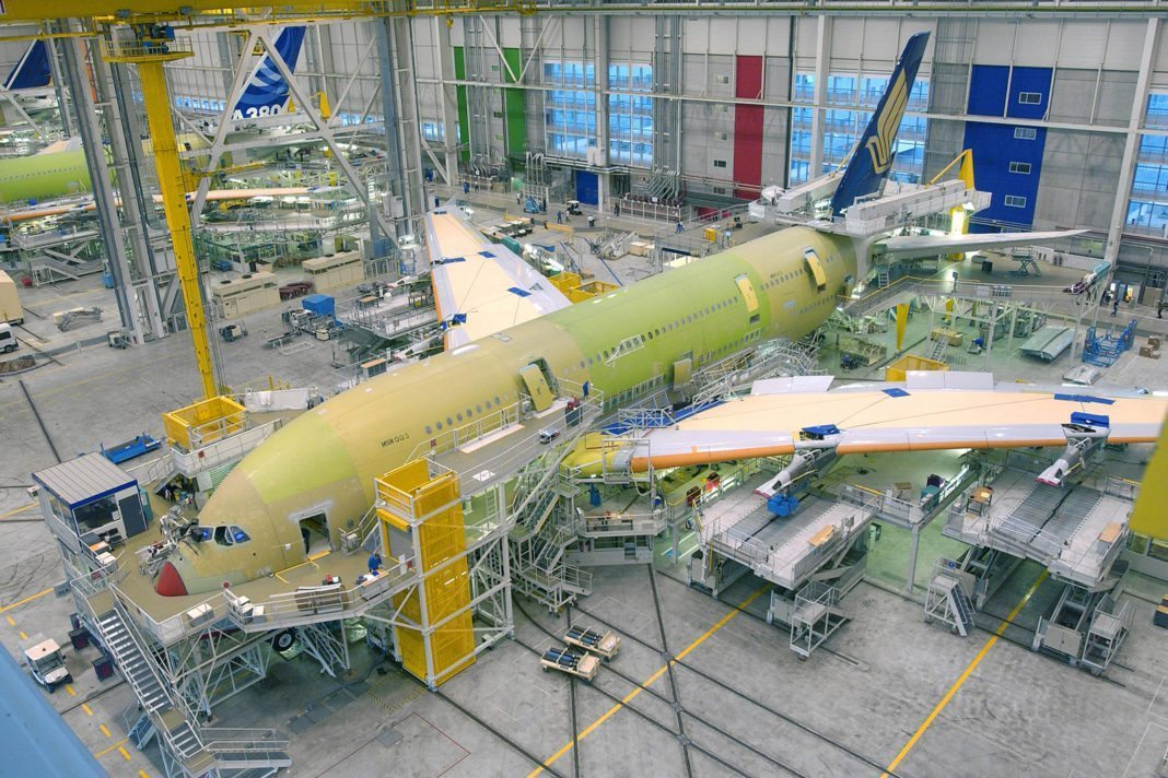 Airbus logs orders for 45 aircraft in first three months of 2018