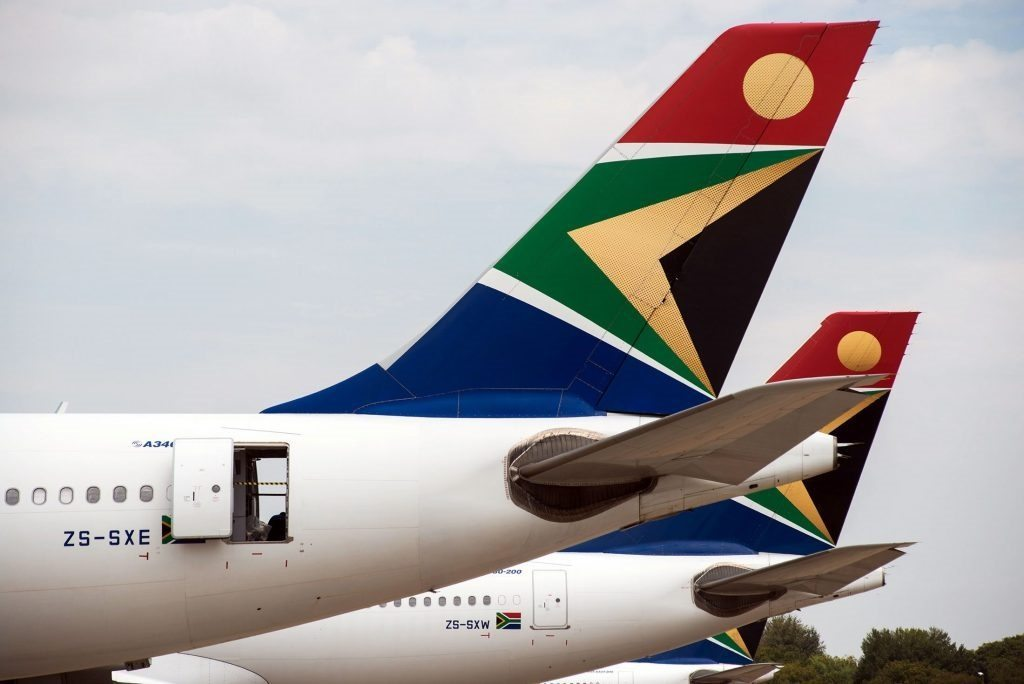 South African Airways awarded 4-star rating