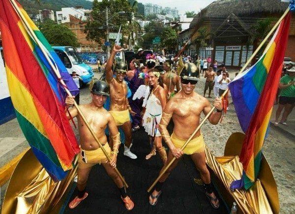 Vallarta Pride brings in the clowns to celebrate Puerto Vallarta Centennial