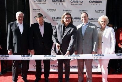 Cambria Hotels celebrates grand opening in downtown Dallas