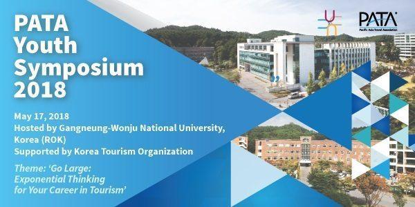 Gangneung-Wonju National University to host PATA Youth Symposium during PATA Annual Summit 2018