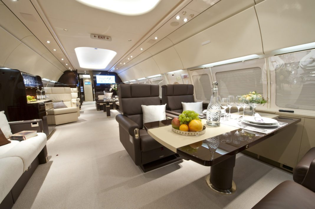 Airbus corporate jet has what is missing in traditional bizjet
