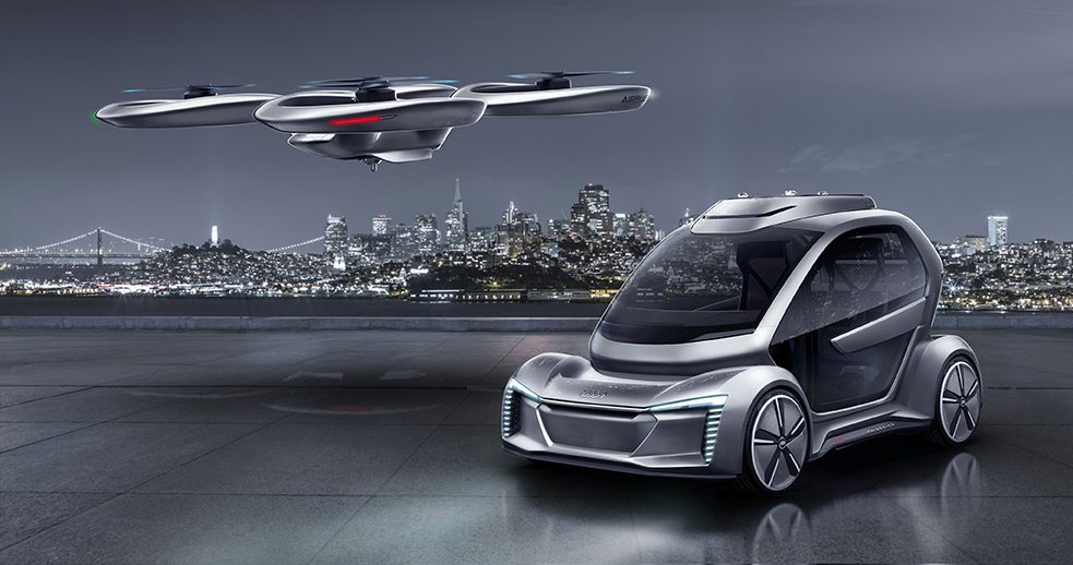 Airbus and Audi and the its on-demand helicopter platform Voom