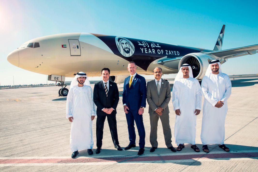 Year of Zayed unveiled at Etihad Airways: Wisdom, respect, sustainability, human development