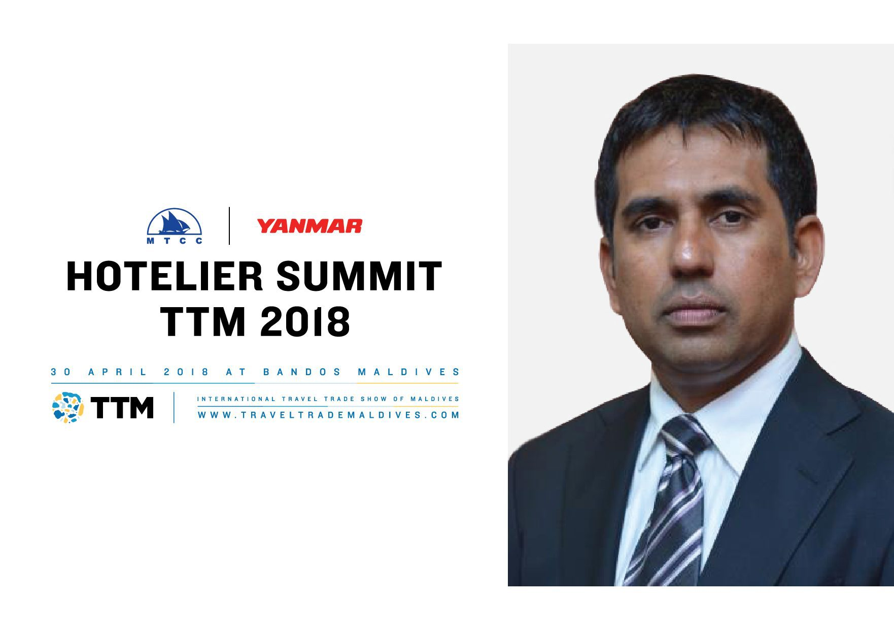 TTM 2018 to be inaugurated by Minister of Economic Development Honorable Mr Mohamed Saeed