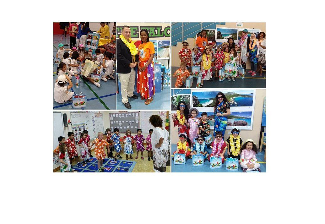 Seychelles showcased through Ontario International Canadian School students in Dubai