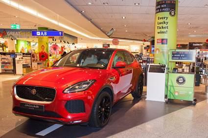 "Lucky Weeks"" at Frankfurt Airport: Win a Jaguar"