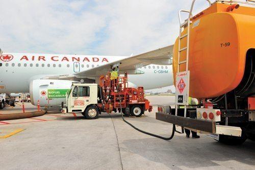 Air Canada operates biofuel flight from Edmonton to San Francisco