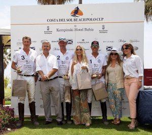 Team Kempinski Hotel Bahía wins the first Costa del Sol Beach Polo Cup