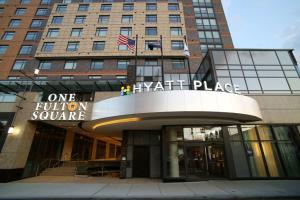 Undercover hotel guest at Hyatt Place Flushing La Guardia Airport New York