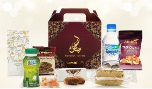 On Qatar Airways: Ramadan Kareem Iftar boxes