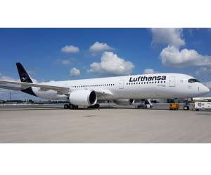 Lufthansa receives 10th Airbus A350-900 jet