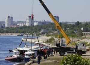 Drunk skipper crashes catamaran into barge, killing 11 in Russia