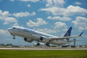 United Airlines first 737 MAX 9 takes flight from Houston Intercontinental Airport