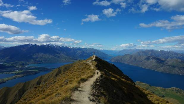 Visitor numbers to Wanaka's Roys Peak increased by 27 per cent last year, with walkers queueing for 40 minutes to ...