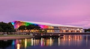 Darwin Convention Center has two reasons to celebrate