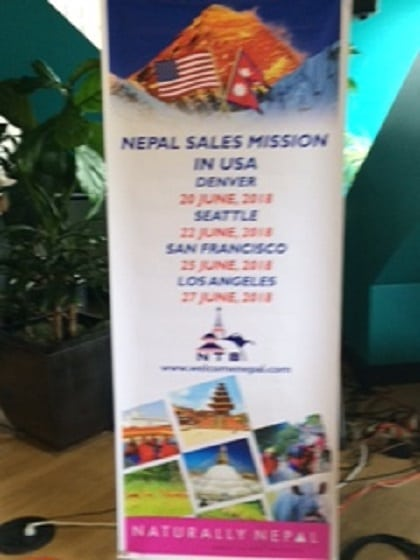 Nepal Tourism Summit took over Seattle tourism today