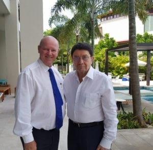 Where was former UNWTO Secretary General Dr. Taleb Rifai last week?