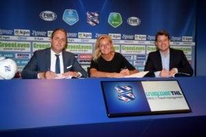 UNIGLOBE Travel THL signs sc Heerenveen