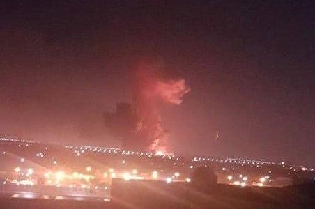 Massive explosion rocks Cairo International Airport