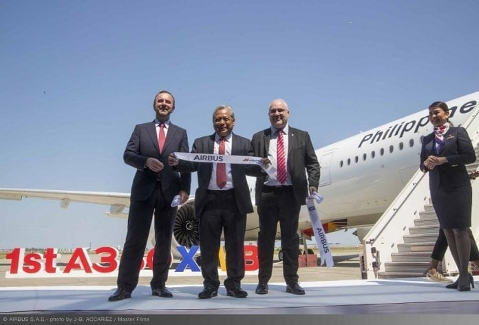 Philippine Airlines takes delivery of its first Airbus A350 XWB
