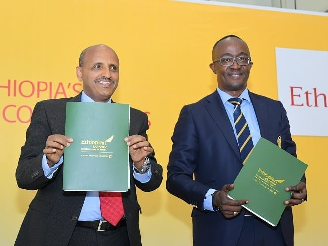 Ethiopian Airlines and DHL Global Forwarding announce joint venture company