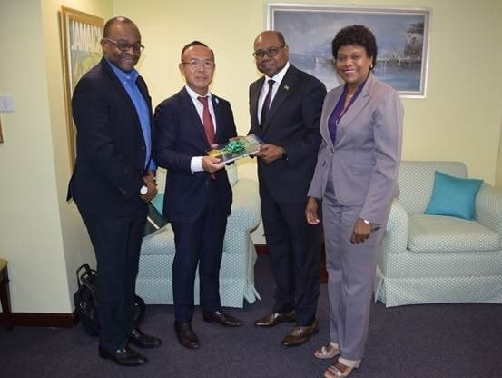 Jamaica's Tourism Minister to strengthen relations with Japan