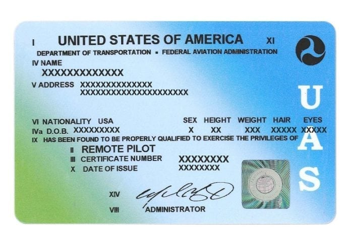 FAA hits 100K Remote Pilot Certificates issued