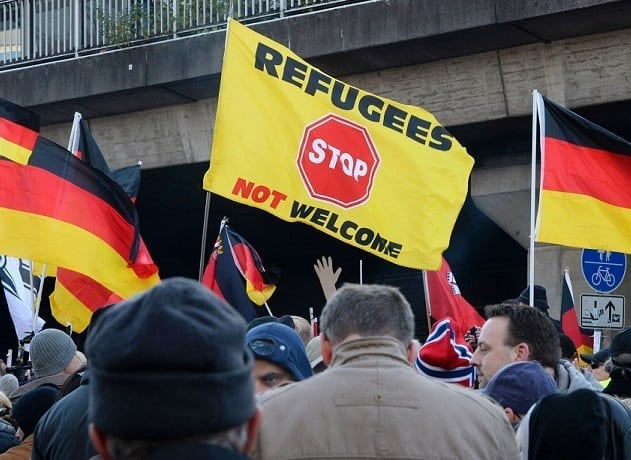 "72 percent of Germans say country's immigration policies ""too careless"""