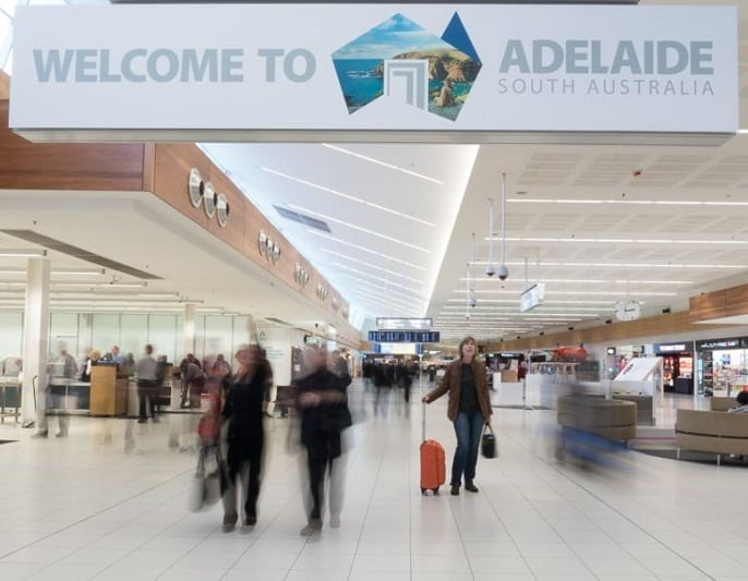 Adelaide Airport passes one million international passenger milestone