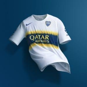Boca Juniors new Jersey: Qatar Airways has a big part of it