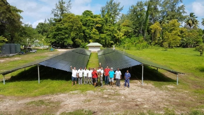 Denis Private Island: A world example into renewable energy