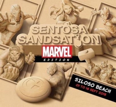 Bigger and Better in the Sand: Sentosa Sandsation