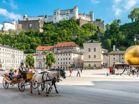 Salzburg: 11,000 tourists arrive from Russia in one day