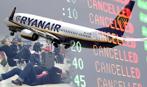 55,000 passengers in five European countries hit by Ryanair pilots' strike