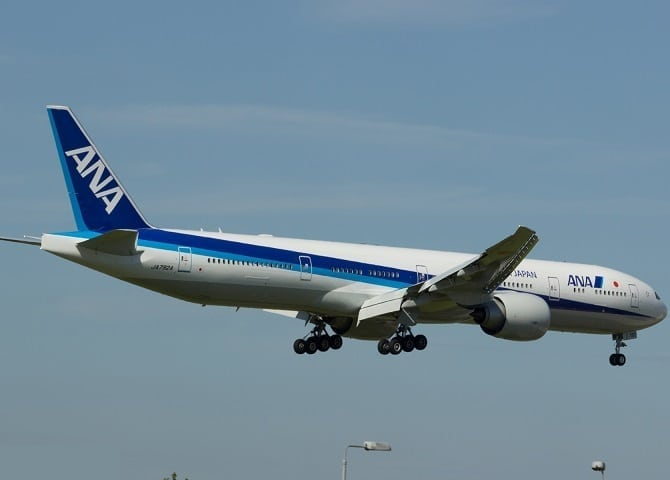 Drunk American arrested for urinating on passenger on ANA flight to Tokyo