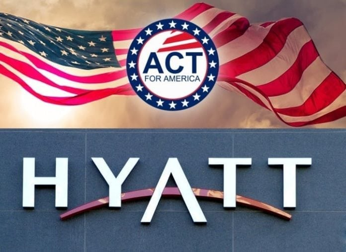 Muslim Advocates: Hyatt opens its doors to hate group