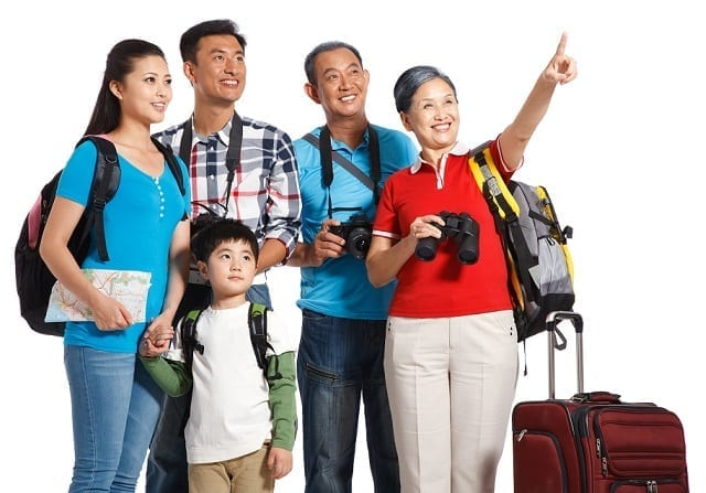 Asian travelers leading the family travel surge