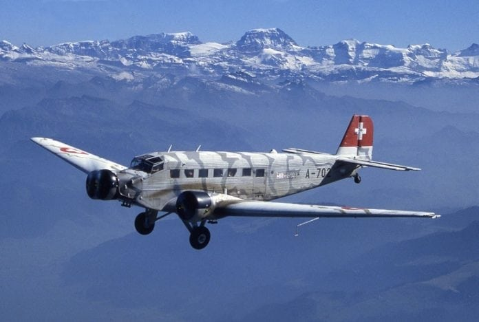 WWII-era German plane crashes in Swiss Alps killing all 20 on board