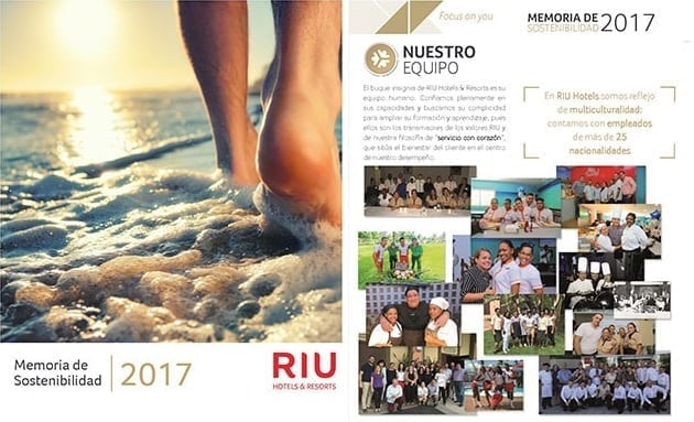 RIU Hotels publishes its first Sustainability Report