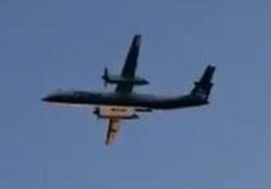 "Horizon Air plane stolen by ""suicidal male"" crashes near Seattle airport"
