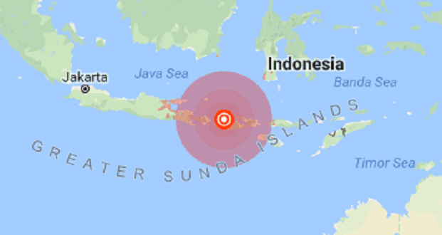 Earthquakes  In Indonesia caused a 26% setback in tourism