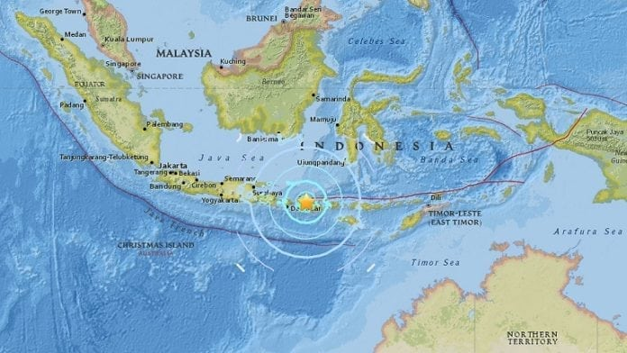 Lombok struck again by strong earthquake