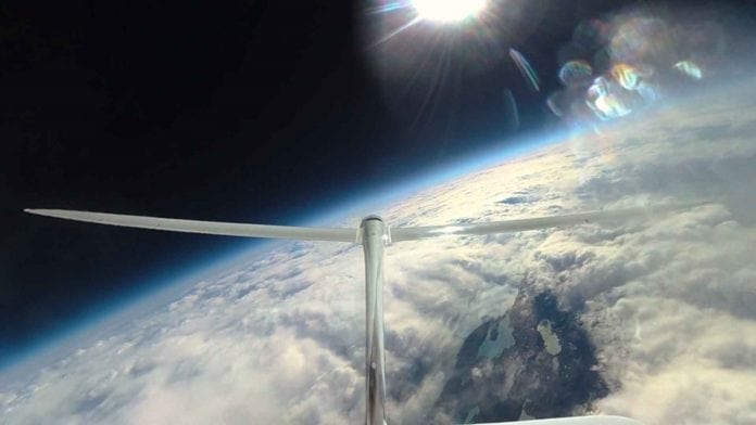 Airbus Perlan Mission II glider soars to 76,000 feet to break own altitude record