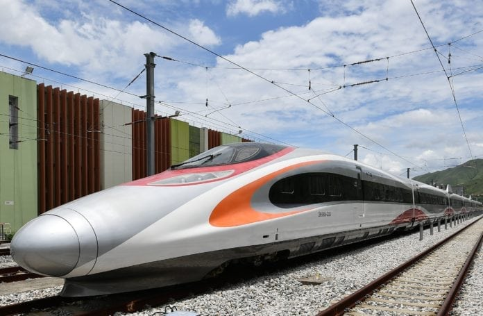 Hong to Mainland China by train is now often the fastest way