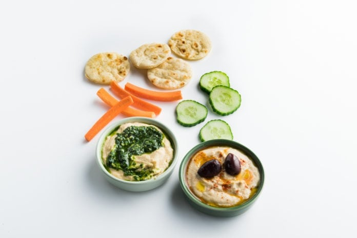 Take a bite from healthy food options at American Airlines