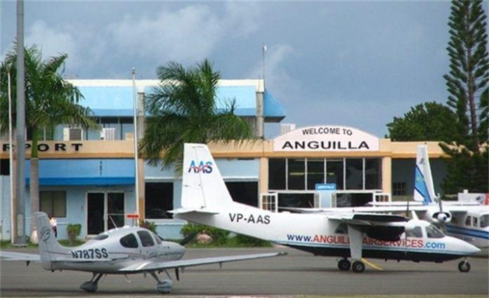 Anguilla Airport: Back in the dark